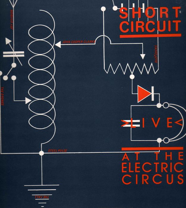 Short Circuit - Live At The Electric Circus (1978) front
